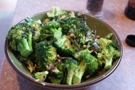 Fiber in Broccoli is Better Absorbed with Eating Them Raw