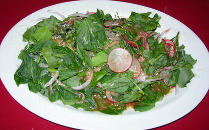 Great Pea Shoot Salad Recipes on the Internet