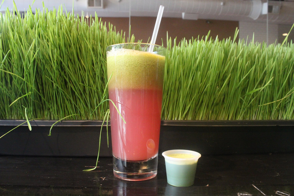 wheat grass juice for your health